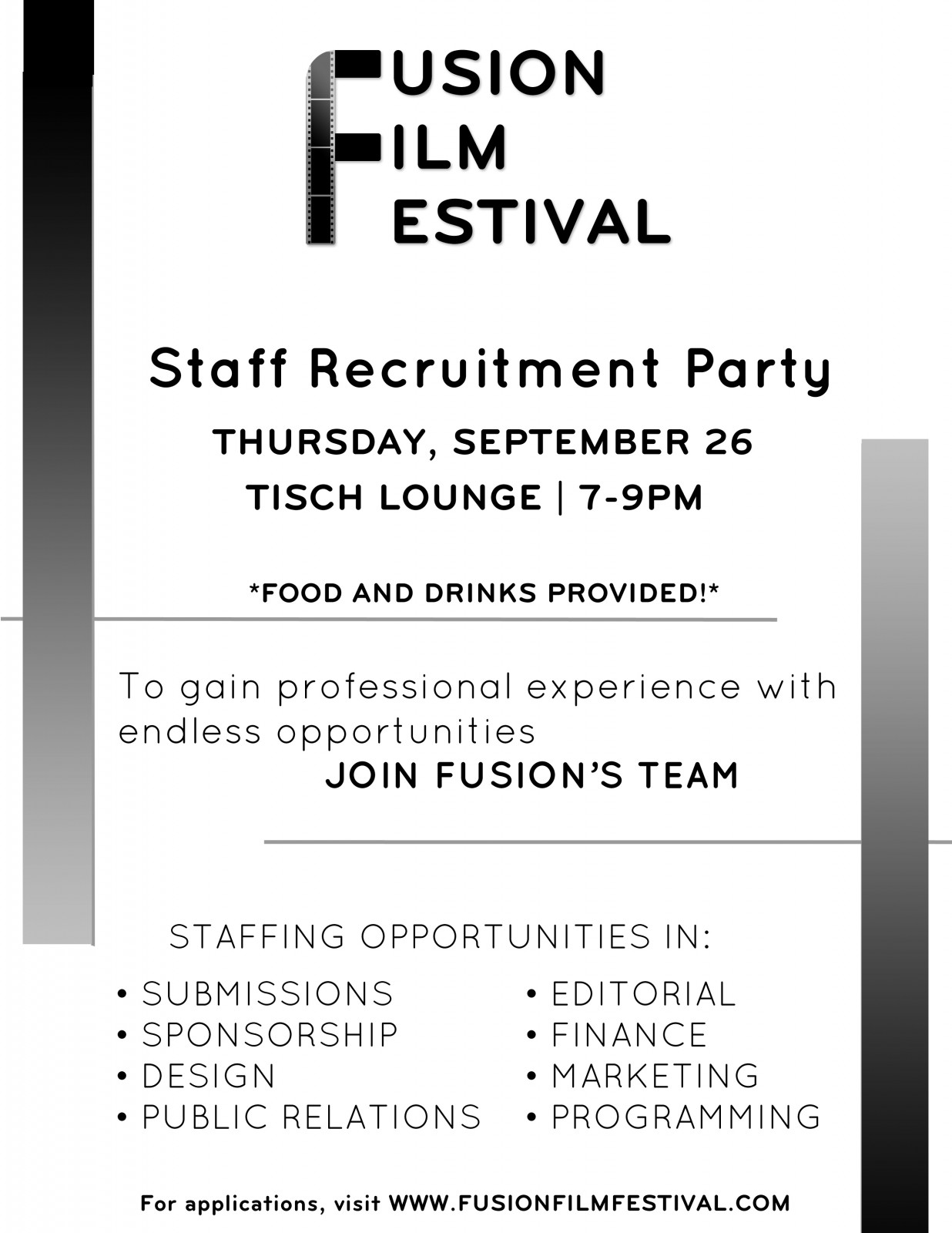 Staff Recruitment Party